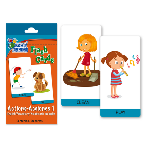 6033 Flash Cards Actions 1
