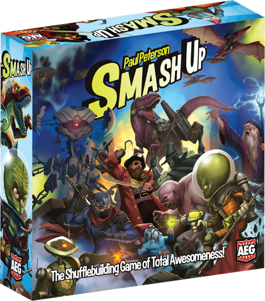 It all begins somewhere - and Smash Up starts here!
