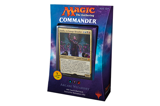 Magic Commander 2017 Arcane Wizardry