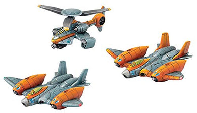 Monsterpocalypse: G.U.A.R.D. Strike Fighters & Rocket Chopper Unit (Resin)