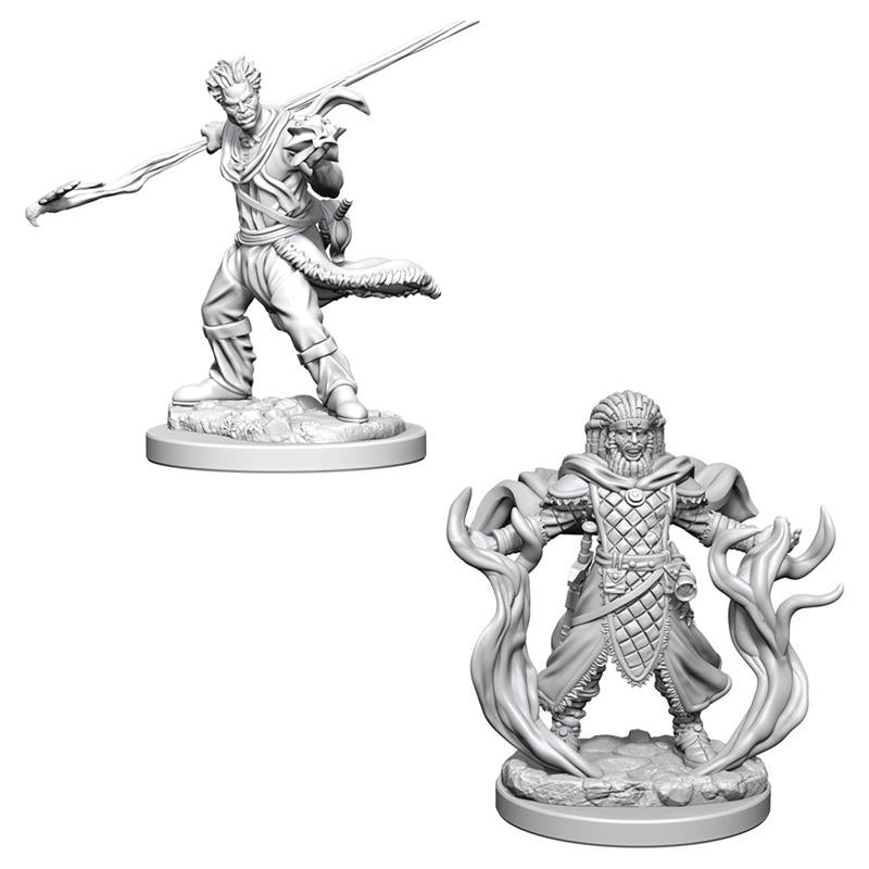 Dungeons and Dragons Nolzur's Marvelous Miniatures Human Druid Male