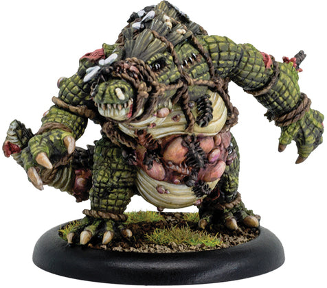 Hordes: Minions Gatorman Husk Solo (Resin and White Metal)