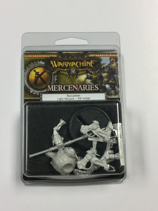 Warmachine Mercenaries Buccaneer Light Warjack