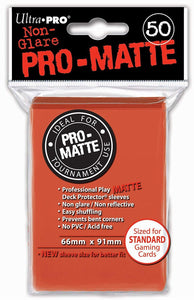 Ultra Pro Matte Deck Protector Sleeves 50 Count