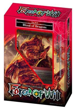 Force of Will Reiya Cluster Fire Deck: Blood of Dragons