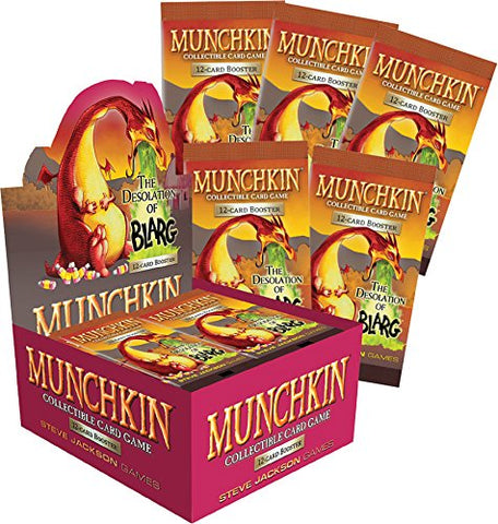 Munchkin Collectible Card Game: The Desolation of Blarg Booster Display (24)