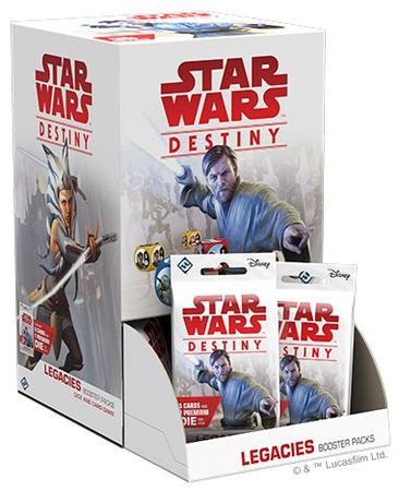 Star Wars Destiny: Legacies Booster Pack Display (36)