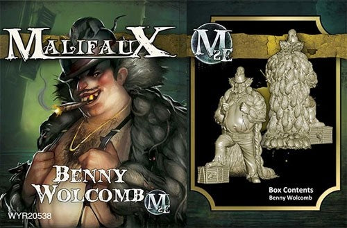 Malifaux: Outcasts Benny Wolcomb