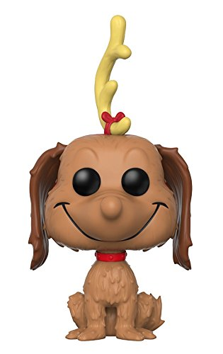 Funko Pop Books: the Grinch-Max the Dog Collectible Vinyl Figure
