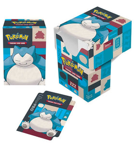 Pokemon: Snorlax Full View Deck Box