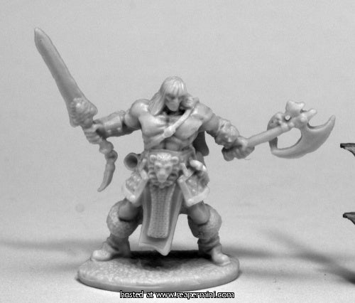 Dark Heaven: Bones Brand Oathblood, Barbarian