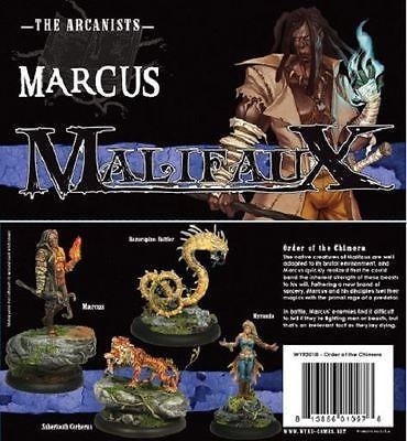 Malifaux Order of the Chimera Box Set Marcus