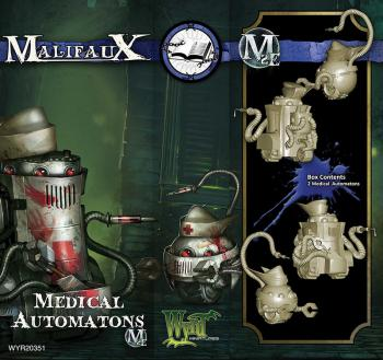 Malifaux: Arcanists Medical Automaton