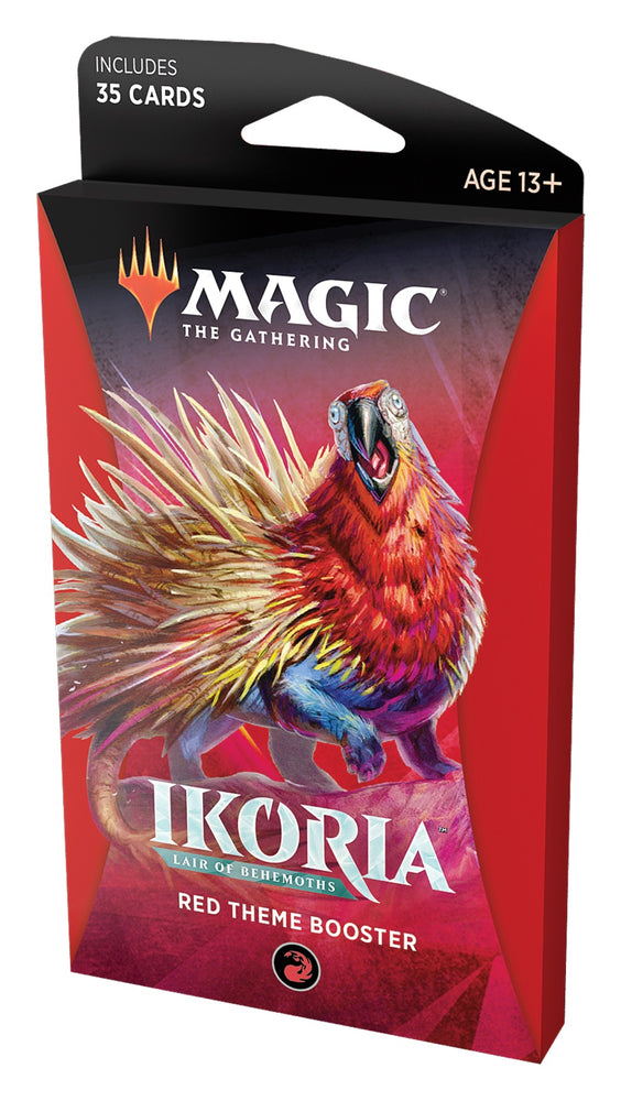 Magic the Gathering CCG: Ikoria - Lair of Behemoths Red Theme Booster