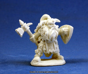 Dark Heaven: Bones Dwarf Warrior