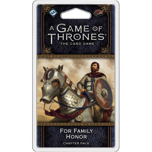 A Game of Thrones LCG Second Edition For Family Honor Chapter Pack