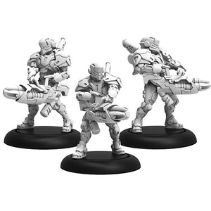 Warcaster: Iron Star Alliance Paladin Annihilators Squad (White Metal)