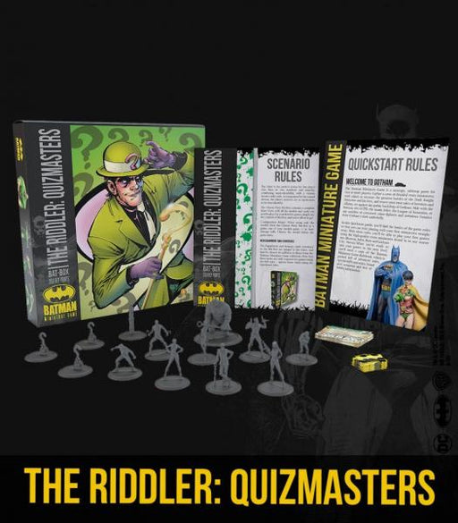 Batman Miniature Game: The Riddler - Quizmasters Bat Box Set
