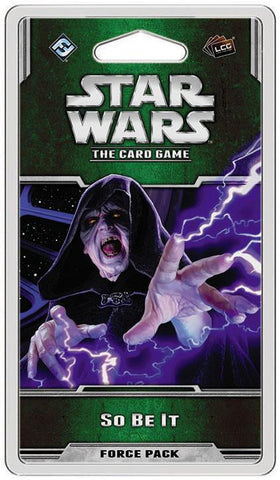 Star Wars LCG So Be It Force Pack