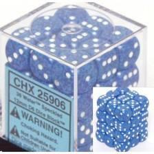 Chessex 36 12mm D6 Dice Block Speckled Water 25906