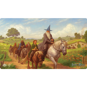 Lord of the Rings LCG: The Hobbit Playmat