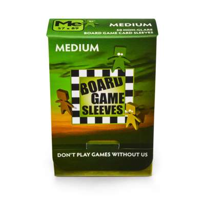 Board Game Sleeves: Medium Non-glare