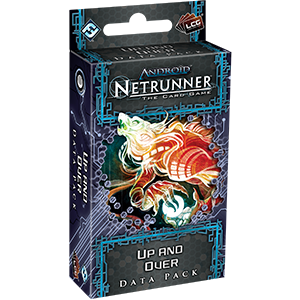 Android Netrunner LCG Up and Over Data Pack