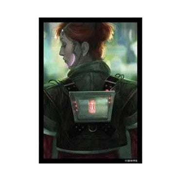 Android Netrunner Deep Red Art Sleeves