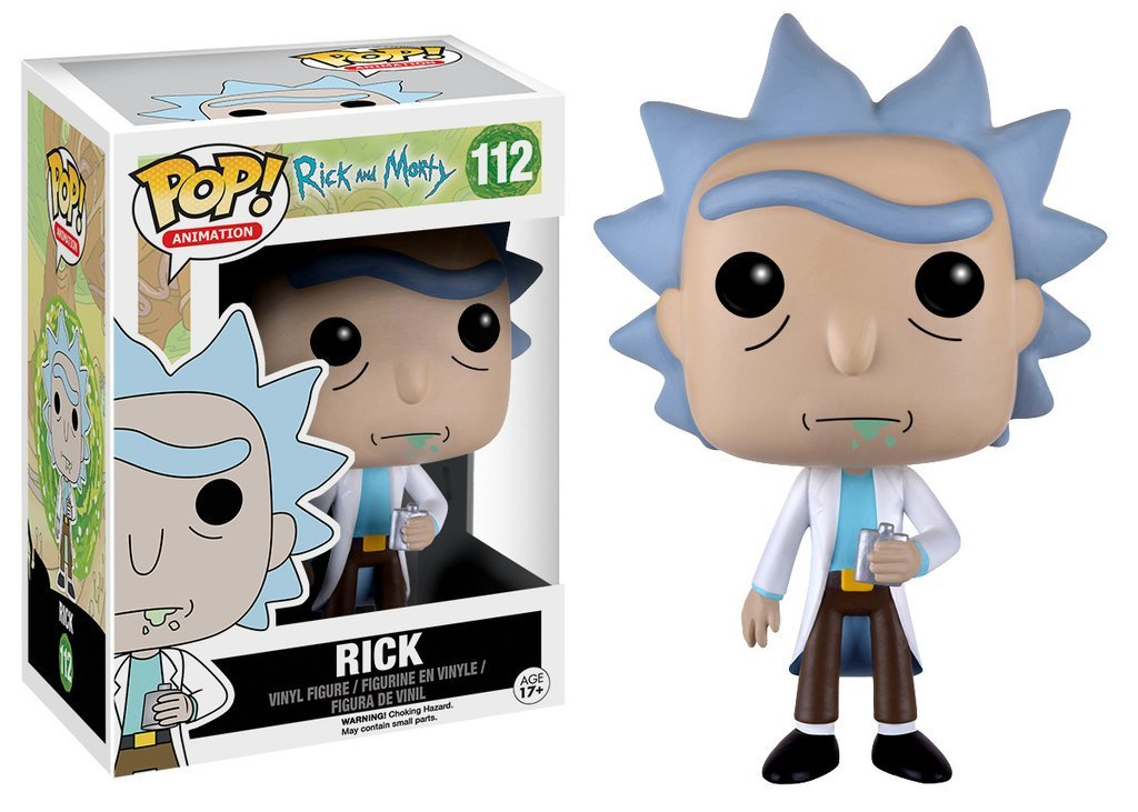 Funko PoP! Rick and Morty Rick 112