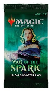 Magic the Gathering CCG: War of the Spark Booster Pack
