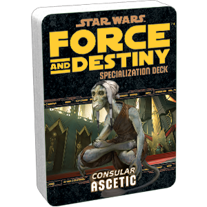 Star Wars Force and Destiny Consular Ascetic Specialization Deck