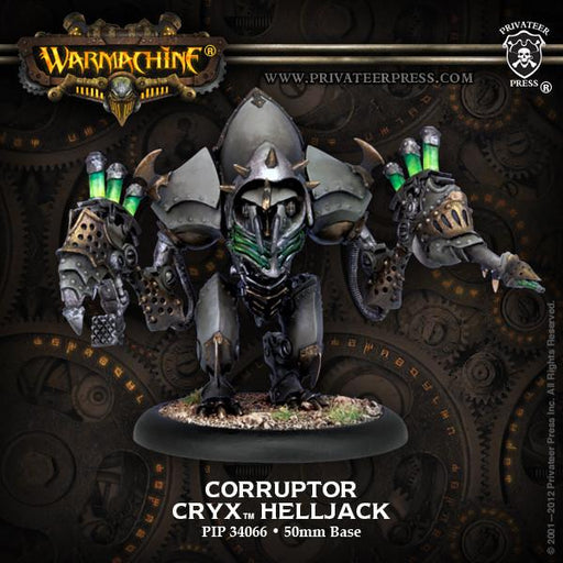 Warmachine Cryx Corruptor Reaper Slayer Helljack