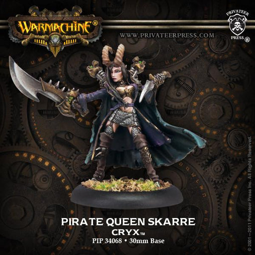 Warmachine Cryx Pirate Queen Skarre Satyxis Warcaster
