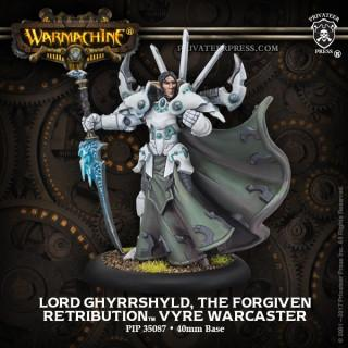 Warmachine: Retribution of Scyrah Lord Gyrrshyld, the Forgiven Warcaster