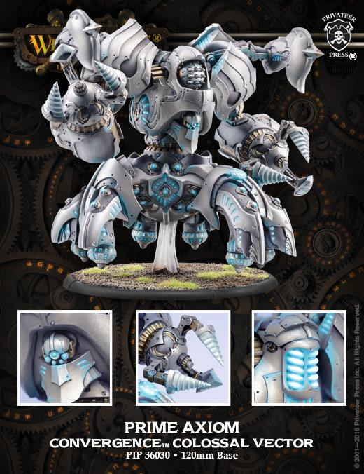Warmachine Convergence of Cyriss Prime Axiom Conflux Colossal Vector