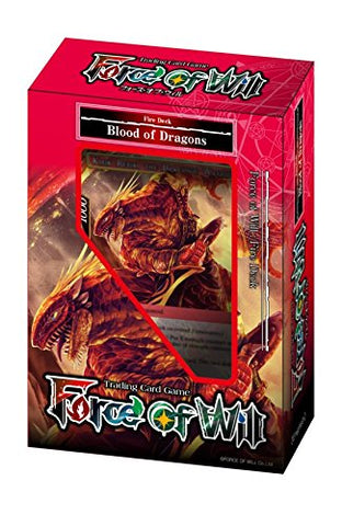 Force of Will: Reiya: Starter Deck Blood of Dragons