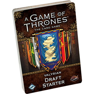 A Games of Thrones Card Game Valyrian Draft Starter