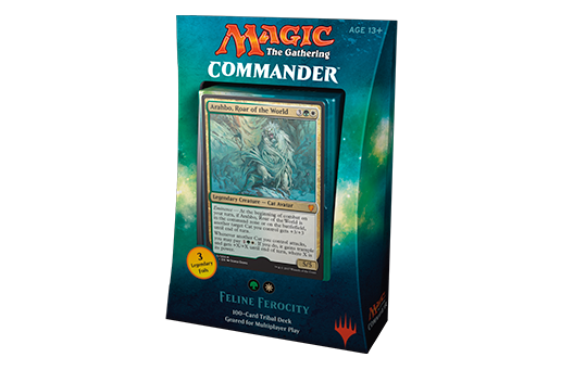 Magic Commander 2017 Feline Ferocity