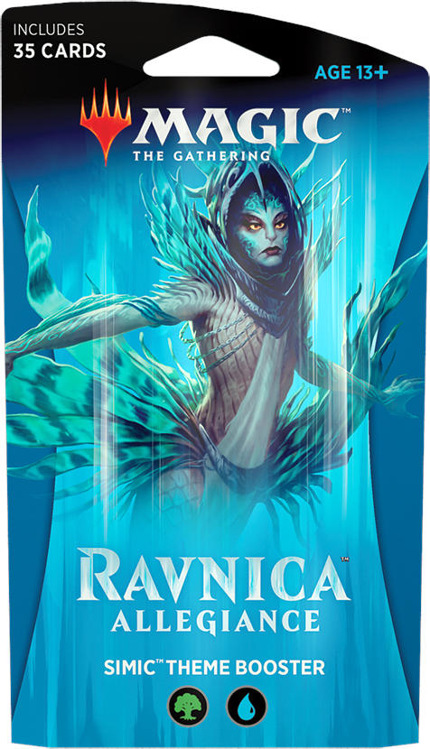 Magic the Gathering CCG: Ravnica Allegiance Theme Booster Simic