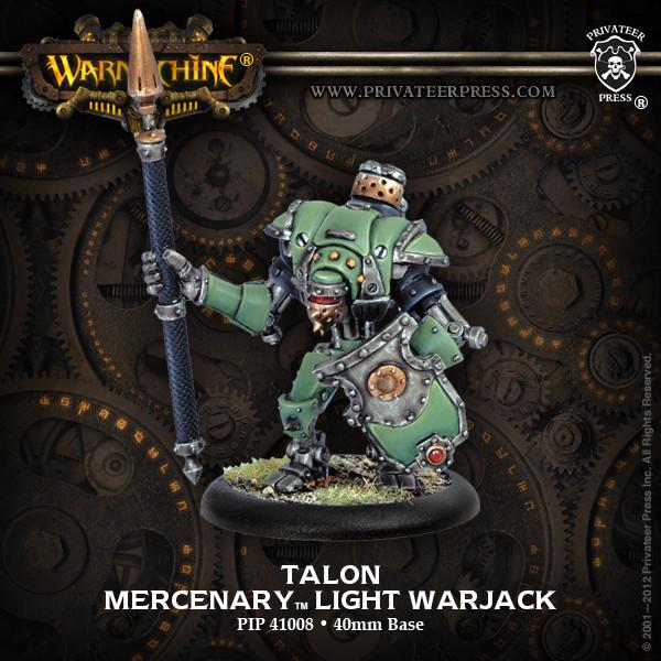 Warmachine Mercenaries Talon Light Warjack