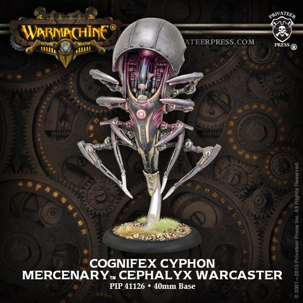 Warmachine Mercenaries Cognifex Cyphon