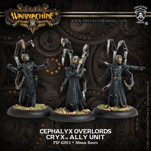 Warmachine Cryx Cephalyx Overlords