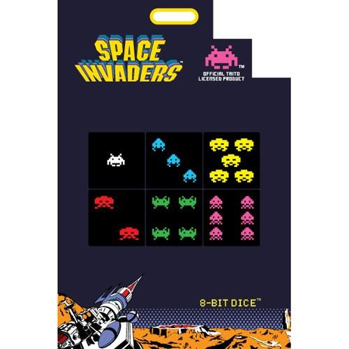 8-bit Dice Space Invaders 6 d6