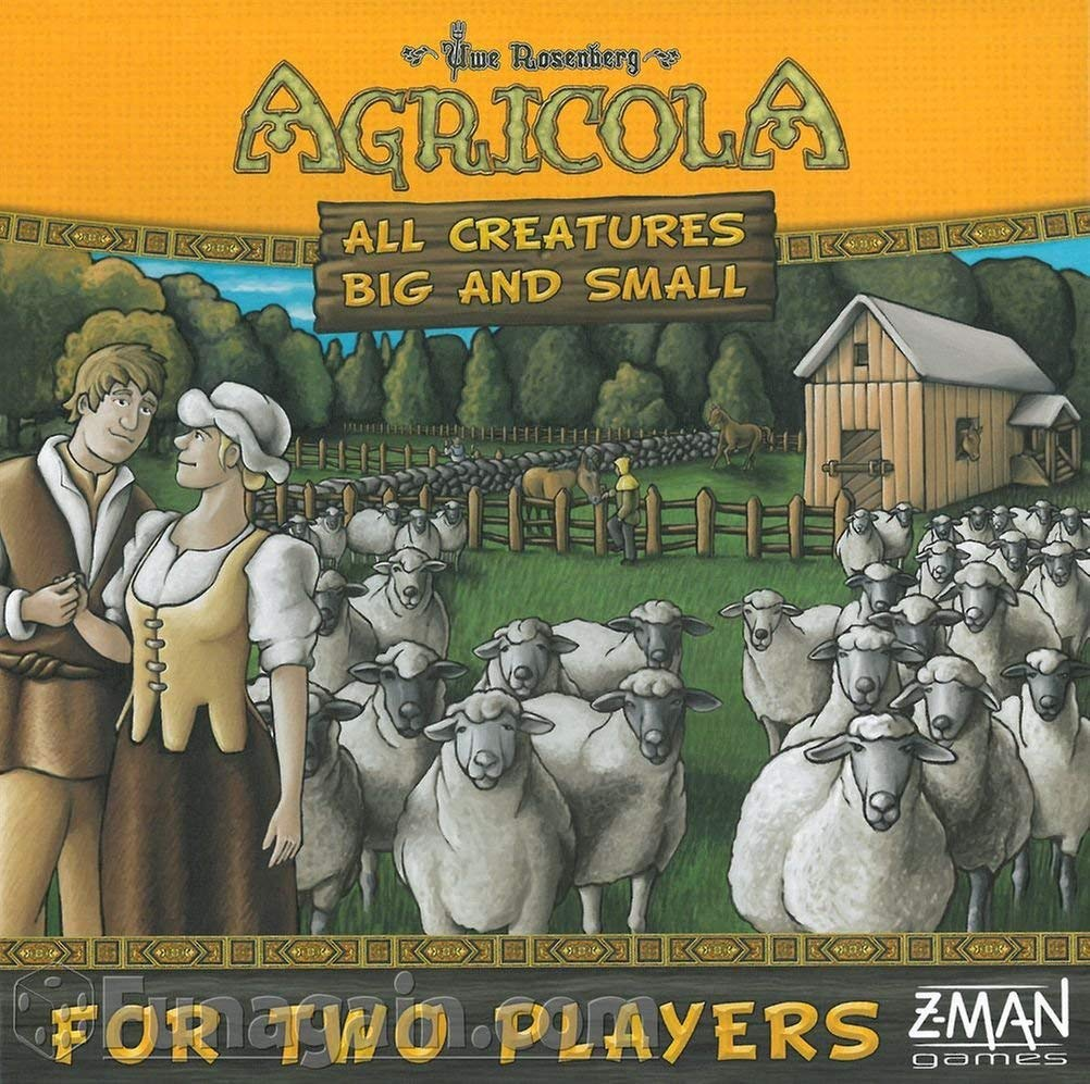 Agricola: All Creatures Big and Small (Big Box) (stand alone)