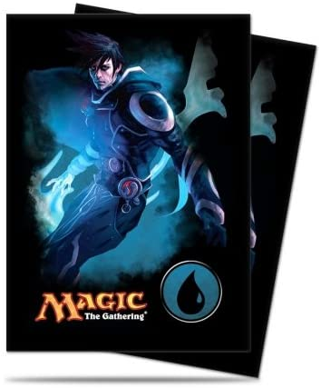 "Magic the Gathering Mana 4 Planeswalkers ""Jace - Blue"" Deck Sleeves - 80 Ct…"