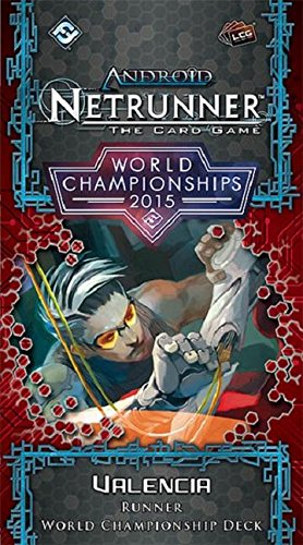Android Netrunner LCG: 2015 World Champion Runner Deck