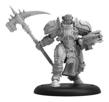 Warmachine: Khador Kommandant Sorcha Kratikoff Warcaster (Resin and White Metal)