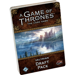 A Game of Thrones Card Game Valyrian Draft Pack