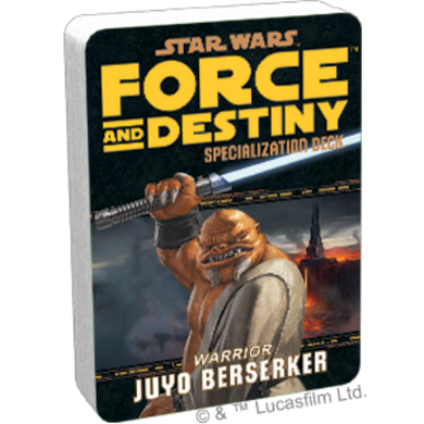 Star Wars RPG: Force and Destiny - Juyo Berserkers Specialization Deck