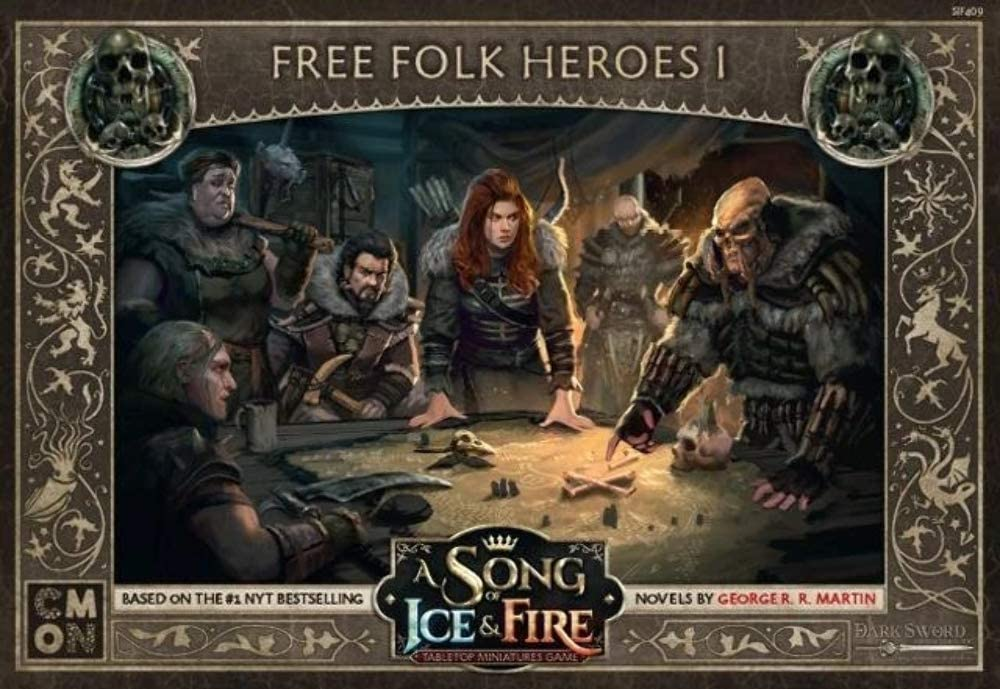 A Song of Ice & Fire Tabletop Miniatures Game: Free Folk Heroes Box I
